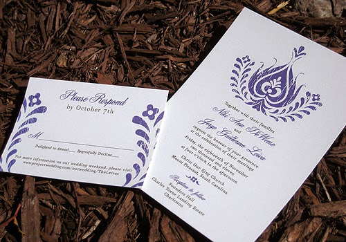 Print Reception Information on Invitation Instead of a Separate Card