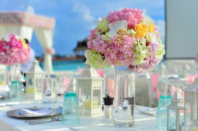 Engagement party decor