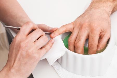 Man's Manicure