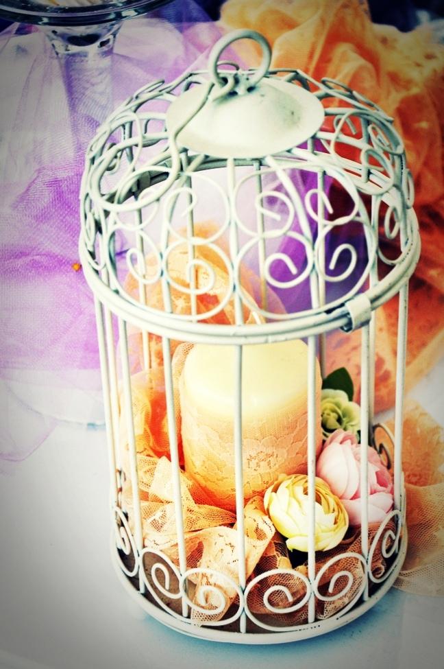 birdcage centerpiece